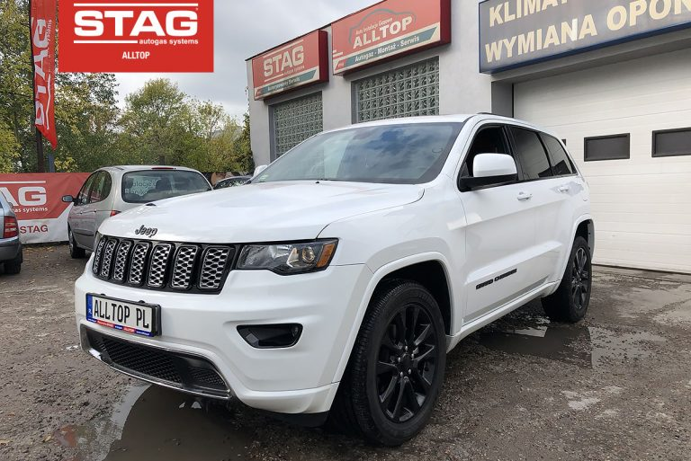 Jeep Grand Cherokee 2018 3,6 260KM
