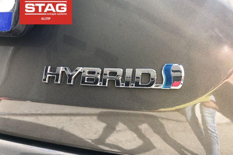 Hybryda na autogaz STAG